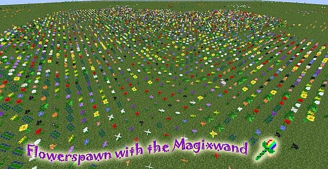 Flower with Magicwqand