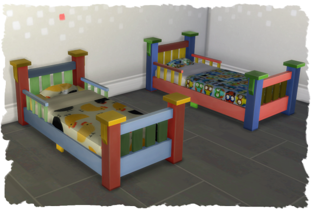 kleinkinder bett toddler bed sims4 chalipos. Black Bedroom Furniture Sets. Home Design Ideas